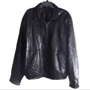Men's ROUNDTREE & YORKE Lambskin Leather Jacket